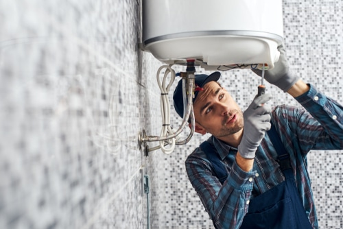 water heater repair specialists in Corona